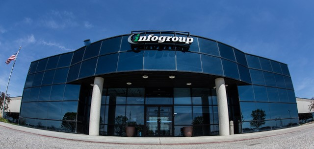 infogroup front of building